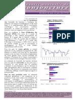 Bank Al Maghrib Enquête Mensuelle de Conjoncture Dans l'Industrie Au Maroc Juin 2015
