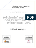 Methodologie de Realisation Des Missions Opc