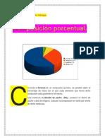 composicion porcentual