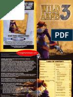 Wild Arms 3 game manual