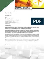Surat Lamaran PT Cakra Petrokindo Utama