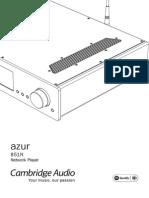 Azur 851N User Manual English