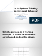 introductiontosystemsthinking-140501183443-phpapp01