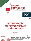 Interpretacao de Textos Verbais e Nao Verbais0de7e2c6fa8c5057892d156610be390fbf239f53