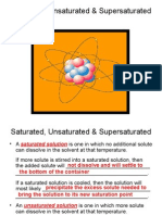 Lecture 7.08 - Satuarted, Unsaturated, & Supersaturated Solutions