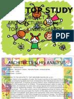 Kindergarten desktop study