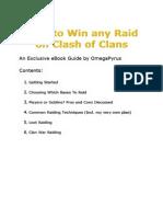 Clash of Clans - Raiding Strategy