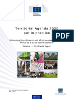 Territorial Agenda 2020 Practice Report