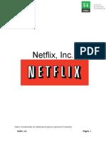 Investigacion caso exitoso Netflix INC