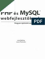 PHP és MySQL Webfejlesztőknek