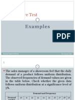 Chi-Square Test Examples