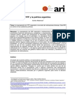 YPF Politica Argentina