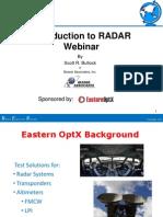 Introduction to RadarMWJ
