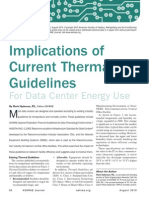 ASHRAE Journal - ASHRAE Data Center Thermal Envelope Implications - Hydeman