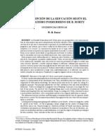 Dialnet-LaConcepcionDeLaEducacionSegunElPragmatismoPosmode-4386686