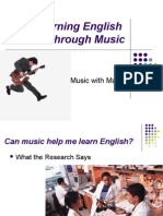 Learning English Thru Music