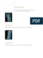 Specific Distal Radial Fractures