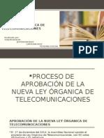 Nueva Ley Organica de Telecomunicaciones 2015