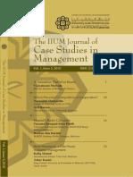 The Iium journal of case studies in management