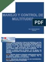 Manejo y Control de Multitudes