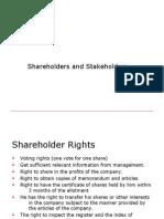 Shareholders & Stakeholders