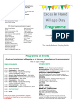 cross in hand village day programme  aug 2015