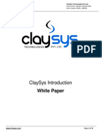 ClaySys Technologies Introduction - White Paper - Feb 2011.pdf