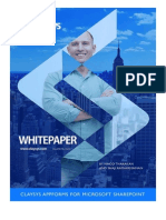ClaySys - AppForms for SharePoint - White Paper