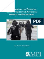 Understanding the Potential Impact of Executive Action on Immigration Enforcement