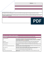Valuation and Balance Sheet Evidence Template