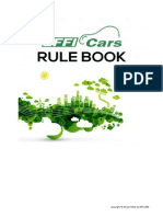 EFFI-CARS 2016 Rule Book - Updated