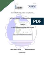 Dimensiones Del Desarrollo Organizacional