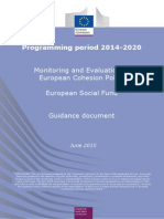 ESF Monitoring and Evaluation Guidance June 2015