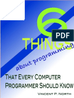6 Things About Programming That Every Computer Programmer Should Know - Vincent North