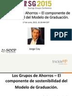 Los Grupos de Ahorro y Graduacion Presentacion 06-17-15