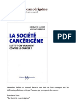 La Société Cancérigène