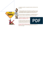 General Guidelines safety