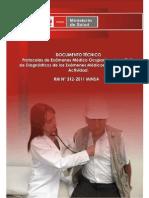Documento Técnico MINSA (2011)