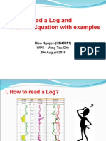 How to read a log