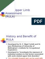 RULA Lecture