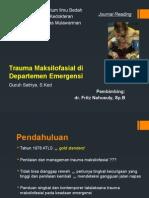 Maxillofacial Trauma in the Emergency Departement