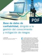 Base de Datos de Confiabilidad