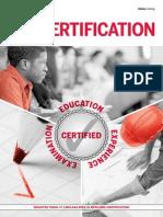 Certification Catalog