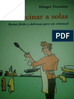 Cocinar a solas - Margot Fontaine