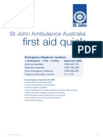 St John Ambulance First Aid Quick