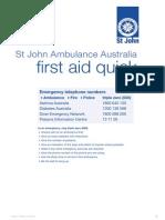 St John Ambulance First Aid Quick