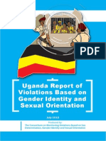 onsortium on Monitoring Violations Based on Sex Determination, Gender Identity and Sexual Orientation.