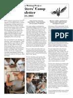 YWC Newsletter—UC San Diego 2015