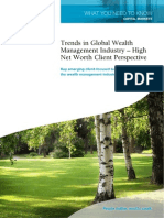 Trends in Global Wealth Management a Client Perspective[1]