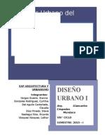 Informe Urbanistico San Hilarion- San Martin
